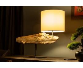 Unikátna a dizajnová stolná lampa Alaska 52cm