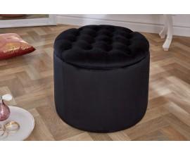 Moderná taburetka Modern Barock čierna 50cm