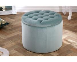 Moderná taburetka Modern Barock mentolová 50cm