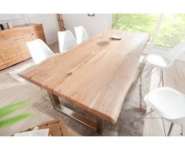 Štýlový masívny jedálensky stôl Mammut z dreva akácia 300 cm