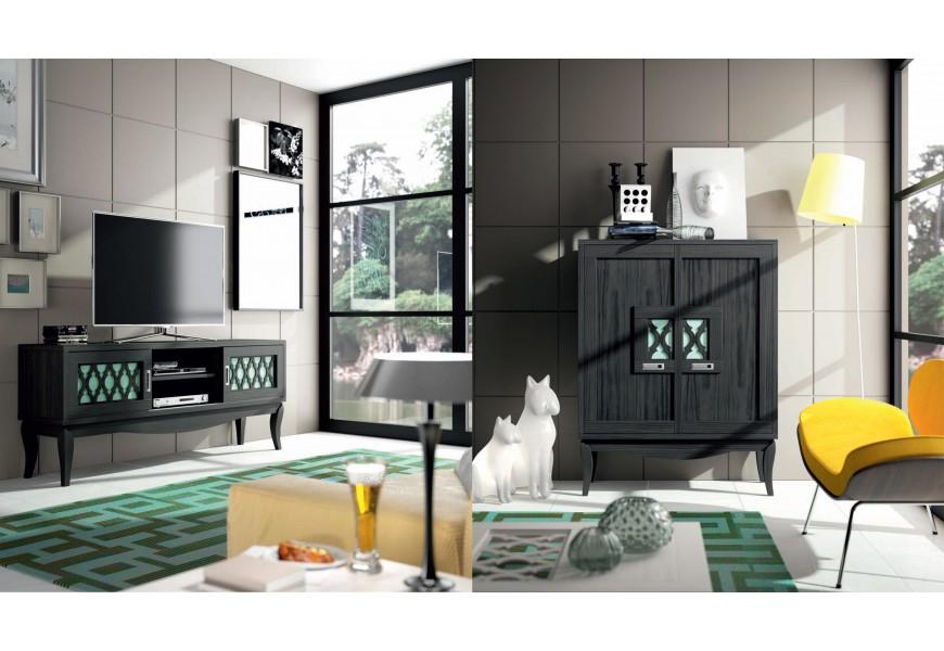 Luxusná štýlová obývacia zostava BASILEA CINCO