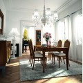 Luxusná masívna jedálenská zostava BASILEA TRES