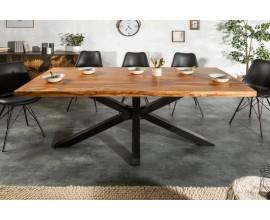 Vkusný industriálny jedálenský stôl Comedor 180cm
