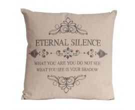Štýlová vintage vankúš Eternal Silence 45cm