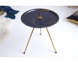 Jedinečný príručný stolík Gedling Royal Gold