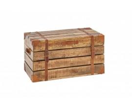 Masívna truhlica Pendle I z mangového dreva