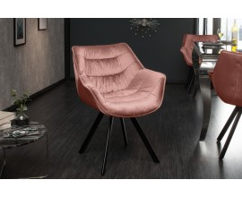 Dizajnová stolička Antik staroružová