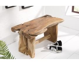 Príručný stolík z teakového dreva Basildon 80cm