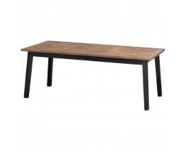 Dizajnový industriálny jedálenský stôl Nyakim 200cm