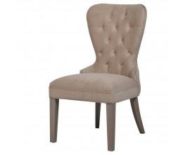 Luxusná jedálenská stolička Ador I s Chesterfield prešívaním 97 cm