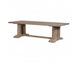 Vidiecky jedálenský stôl Torilde 270cm z masívu