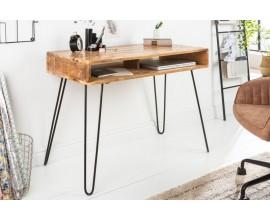 Industriálny písací stôl Leeds z mangového dreva