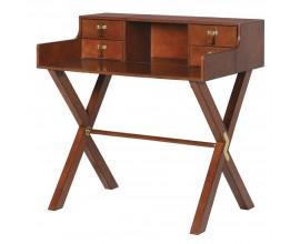 Luxusný kožený pracovný stôl Pellia 91cm