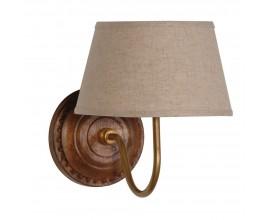 Štýlová koloniálna nástenná lampa Linea 23cm