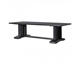 Luxusný jedálenský stôl Wielton Nero 270cm v čiernom prevedení