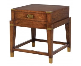 Koloniálny nočný stolík Dark Rich 55cm z masívu