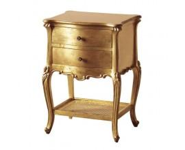 Barokový nočný stolík Roi Gilt 71cm zlatý