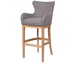 Štýlová retro barová stolička Oakly 55cm