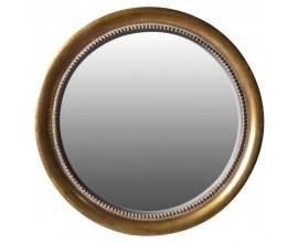 Luxusné veľké okrúhle zrkadlo Zamora 114cm