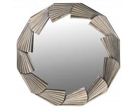 Luxusné okrúhle zrkadlo Riello 95cm v štýle art-deco