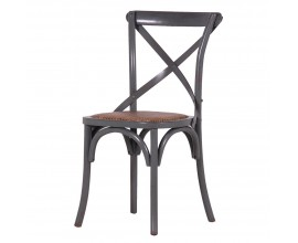 Industriálna stolička Frisco v sivej farbe 89cm
