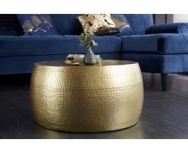 Orientálny konferenčný stolík Hammerblow Orient 60cm v zlatej farbe