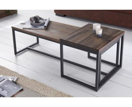 Set dizajnových konferenčných stolíkov Elements 110cm