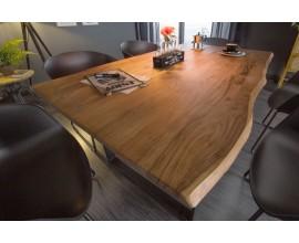 Štýlový industriálny jedálenský stôl Mammut 160cm z masívu