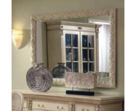 Rustikálne zrkadlo Nuevas formas s dreveným rámom 156cm