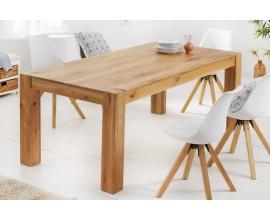 Masívny jedálenský stôl Linton v prírodnom odtieni dubového dreva 160cm