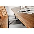 Masívny jedálenský stôl Mammut z akáciového dreva 160cm