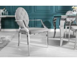 Luxusná jedálenská stolička  Modern Barock II s lakťovými opierkami