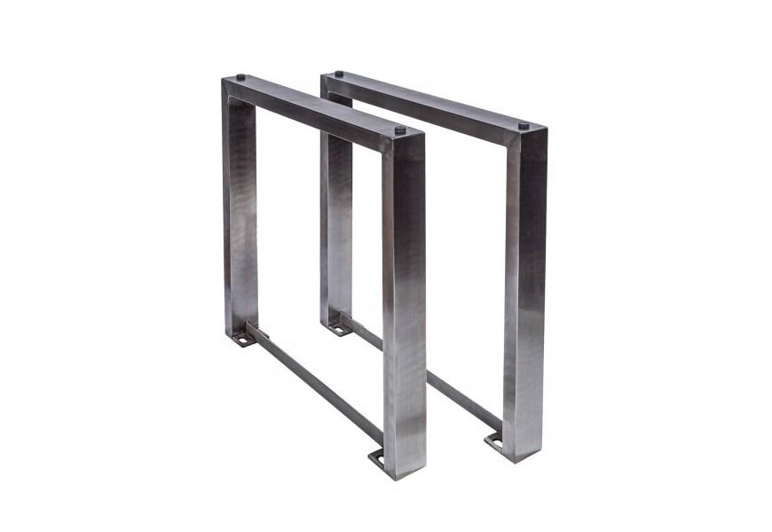Industriálny kovové nohy jedálenského stola Mammut 71cm