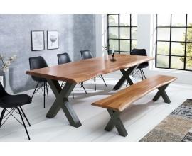 Luxusný jedálenský stôl z masívu Mammut X 200cm