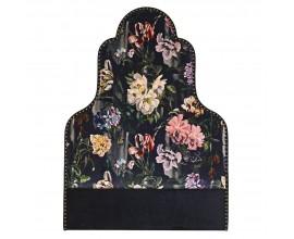 Art-deco luxusné čelo postele Tulip s farebným kvetovaným vzorom 158cm