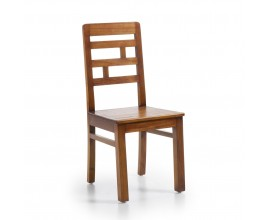 Luxusná masívna stolička Ohio Flash v koloniálnom štýle z dreva mindi 98cm