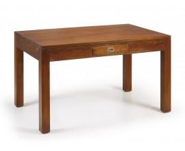 Koloniálny elegantný jedálenský stôl Flamingo z masívneho mahagónového dreva 140cm