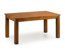 Koloniálny rozkladací jedálenský stôl Flamingo z masívneho mahagónového dreva 220cm