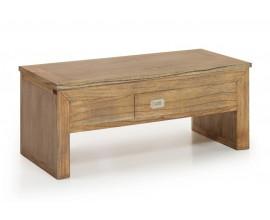 Luxusný masívny konferenčný stolík s vyklápacou vrchnou doskou Merapi