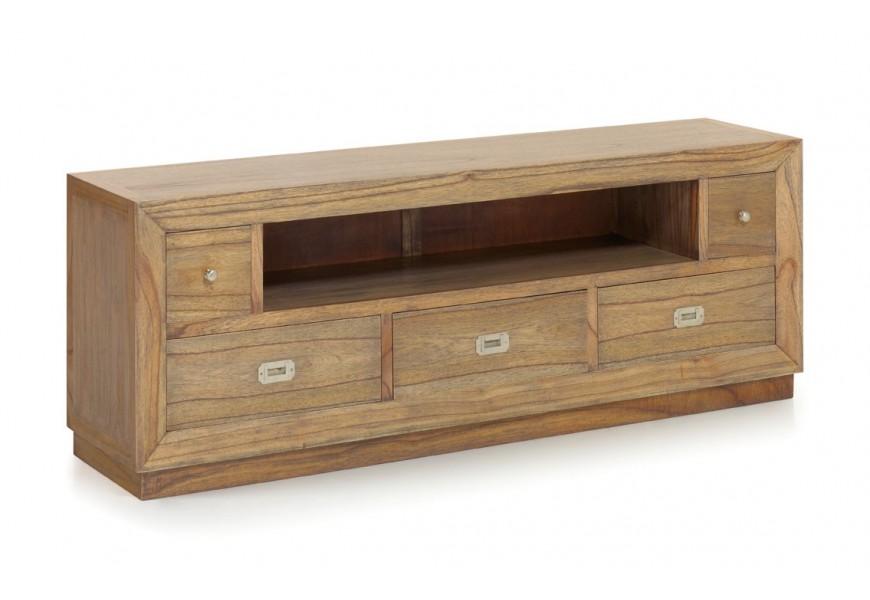 Luxusný štýlový TV stolík so zásuvkami Merapi