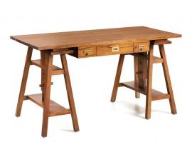 Luxusný masívny písací stôl výškovo regulovateľný Star