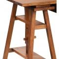 Klasický drevený písací stôl Star s výškovo nastaviteľným mechanizmom 152cm