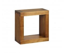 Drevená závesná polička Star štvorcového tvaru 40cm