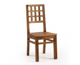 Klasická drevená jedálenská stolička Star z masívu 100cm