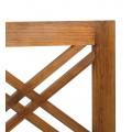 Dizajnové čelo postele s krížovým motívom z dreva Star 100cm Star