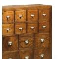 Luxusná komoda Star z dreva so štrnástimi zásuvkami 90cm