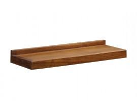 Klasická nástenná polička Star z masívneho dreva