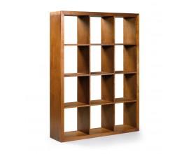 Koloniálna knižnica Star z masívneho dreva mindi 180cm