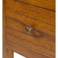 Masívna drevená komoda schody Star v tvare schodíkov so zásuvkami pravá 70cm
