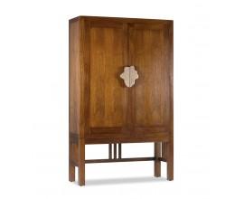 Klasická drevená skriňa Star s úložným priestorom 180cm